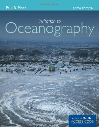 Invitation to Oceanography  6th 2013 edition cover