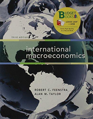 International Macroeconomics (Looseleaf)  3rd 2015 edition cover