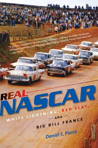 Real NASCAR White Lightning, Red Clay, and Big Bill France  2013 edition cover