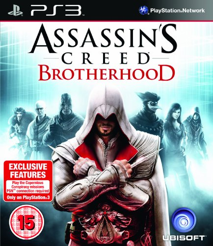 ASSASSINS CREED BROTHERHOOD PlayStation 3 artwork
