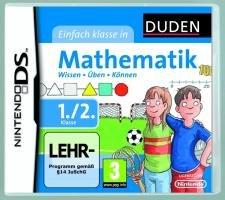 DUDEN Einfach Klasse in Mathematik 1./2. Klasse Nintendo DS artwork