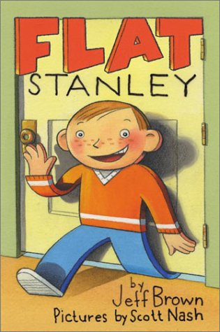 Flat Stanley - His Original Adventure!  40th 2003 (Anniversary) 9780060097912 Front Cover