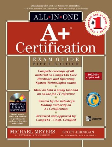 A+ Certification All-in-One Exam Guide  5th 2003 (Revised) 9780072229912 Front Cover