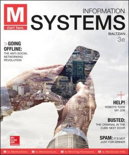 M - Information Systems:   2014 edition cover