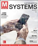 M - Information Systems:   2014 9780073376912 Front Cover