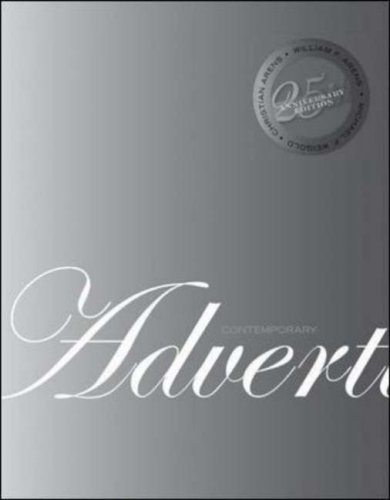 Contemporary Advertising  11th 2008 (Revised) edition cover