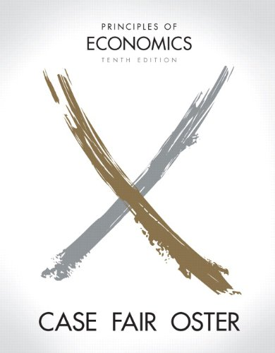 Principles of Economics  10th 2012 (Revised) edition cover