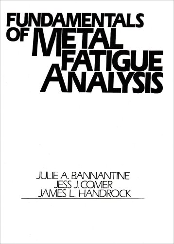 Fundamentals of Metal Fatigue Analysis  1st 1990 edition cover