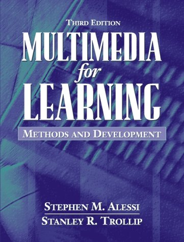 Multimedia for Learning Methods and Development 3rd 2001 (Revised) edition cover