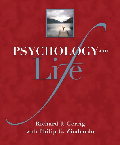 Psychology and Life  19th 2010 edition cover