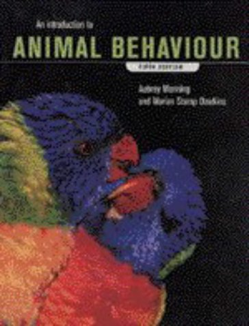 Introduction to Animal Behaviour  5th 1998 (Revised) edition cover