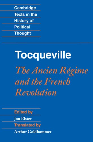 Tocqueville The Ancien R�gime and the French Revolution  2011 edition cover