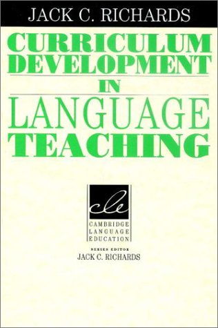 Curriculum Development in Language Teaching   2001 9780521804912 Front Cover