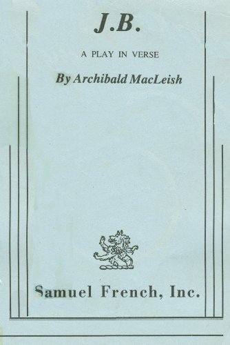 Jb: A Play in Verse  1956 edition cover