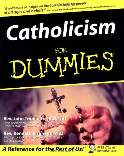 Catholicism for Dummies   2003 edition cover