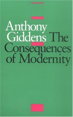 Consequences of Modernity   1990 edition cover