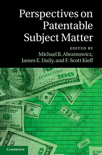Perspectives on Patentable Subject Matter   2014 9781107070912 Front Cover