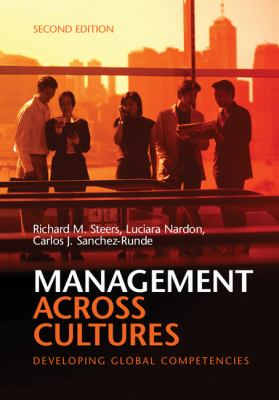 Management Across Cultures Developing Global Competencies 2nd 2012 (Revised) 9781107645912 Front Cover