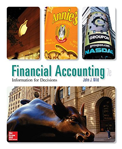 Financial Accounting: Information for Decisions with Connect  7th 2015 9781259665912 Front Cover