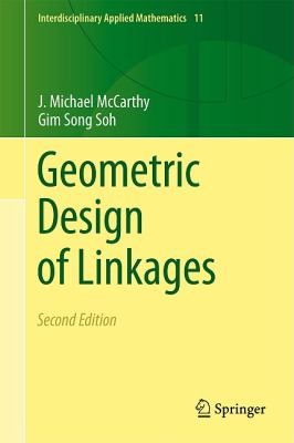 Geometric Design of Linkages  2nd 2011 edition cover