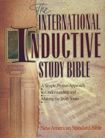 International Inductive Study Bible 1st edition cover