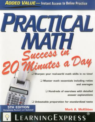 Practical Math Success in 20 Minutes a Day  5th 2012 edition cover