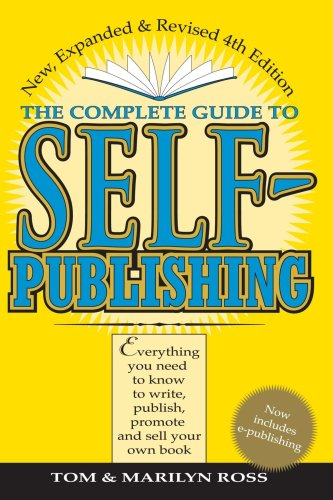 Complete Guide to Self-Publishing  4th 2001 (Revised) edition cover