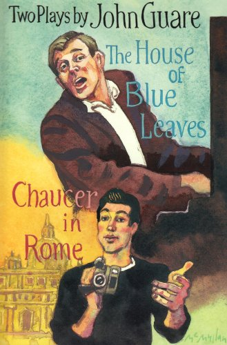 House of Blue Leaves and Chaucer in Rome   2002 edition cover
