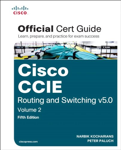 CCIE Routing and Switching v5. 0  5th 2015 edition cover
