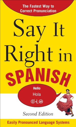 Say It Right in Spanish  2nd 2011 edition cover