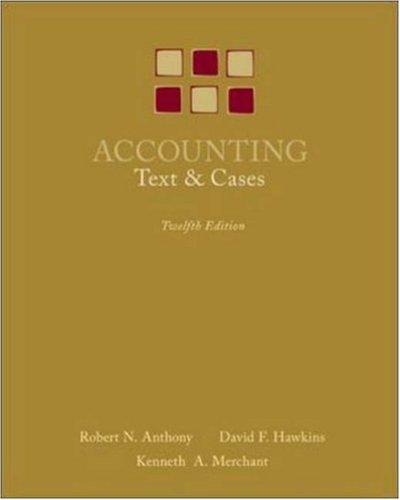 Accounting Texts and Cases 12th 2007 (Revised) edition cover