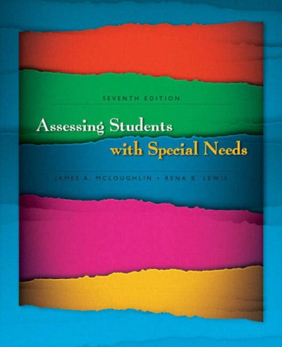 Assessing Students with Special Needs  7th 2008 edition cover