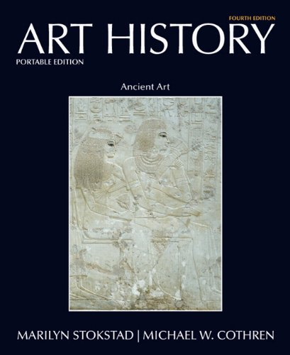 Art History Portable Book 1 Ancient Art 4th 2011 edition cover