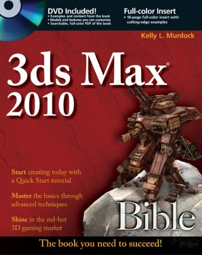 3Ds Max 2010   2009 9780470471913 Front Cover