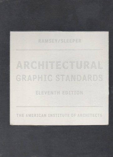 Architectural Graphic Standards  11th 2007 (Revised) edition cover