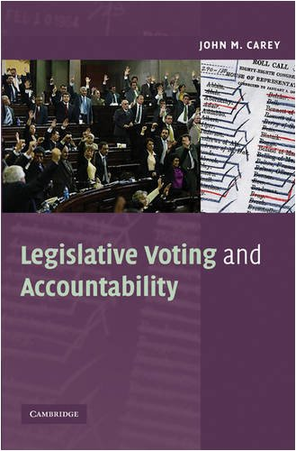 Legislative Voting and Accountability   2009 9780521711913 Front Cover