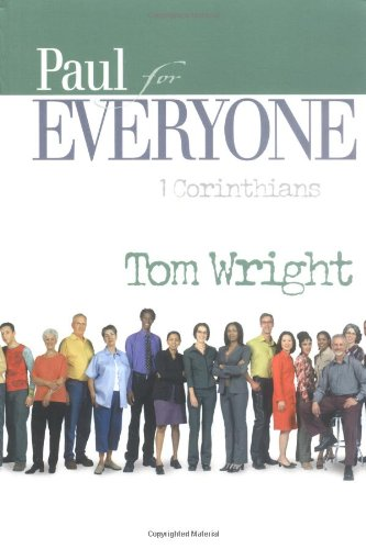 Paul for Everyone 1 Corinthians 2nd 2004 edition cover