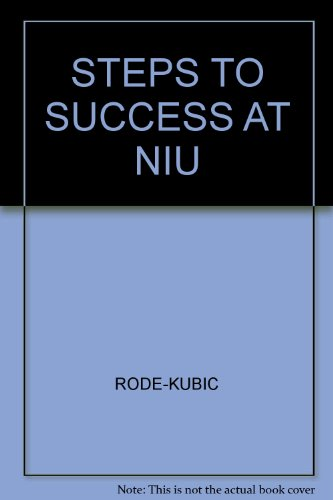 Steps to Success at Niu:   2003 (Revised) 9780757501913 Front Cover