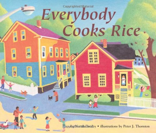 Everybody Cooks Rice   1991 edition cover