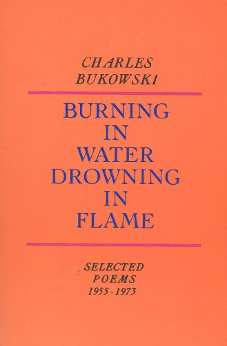 Burning in Water Drowning in Flame, 1955-1973  Reprint  edition cover