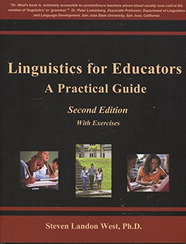 LINGUISTICS FOR EDUCATORS      N/A 9780977802913 Front Cover
