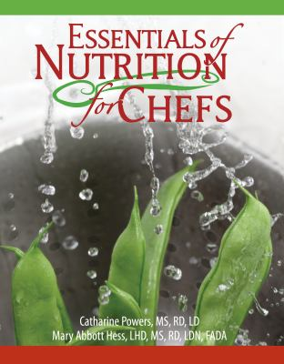 Essentials of Nutrition for Chefs  2010 edition cover