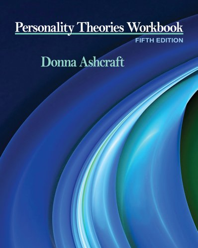 Personality Theories Workbook  5th 2012 edition cover