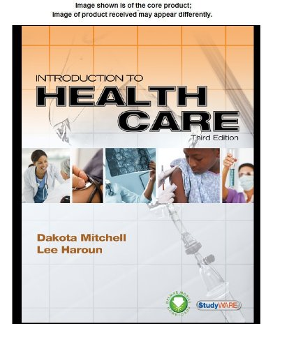 Studyware for Mitchell/Haroun's Introduction to Health Care, 3rd  3rd 2012 9781111537913 Front Cover