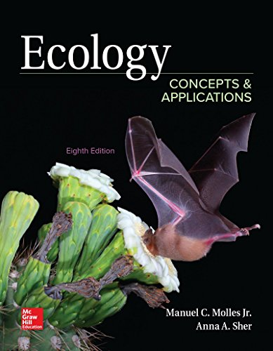 Ecology: Concepts and Applications  2018 9781260136913 Front Cover