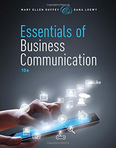 Essentials of Business Communication + Premium Website Access Card:   2015 edition cover
