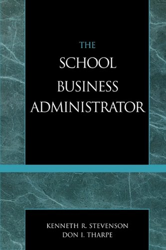 School Business Administrator  4th (Revised) edition cover