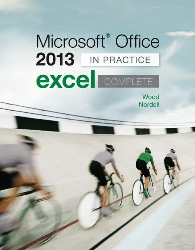 Microsoft Office Excel 2013 Complete: in Practice   2014 edition cover
