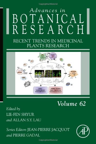 Recent Trends in Medicinal Plants Research   2012 9780123945914 Front Cover