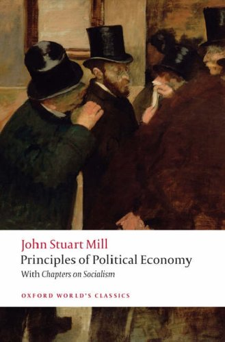 Principles of Political Economy With Chapters on Socialism  2008 edition cover